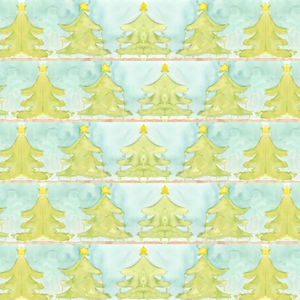 Arbre Blue Wrapping Papers