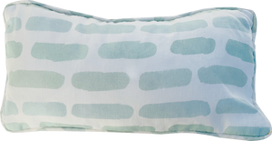 Petite Stitch Pillow in Pool
