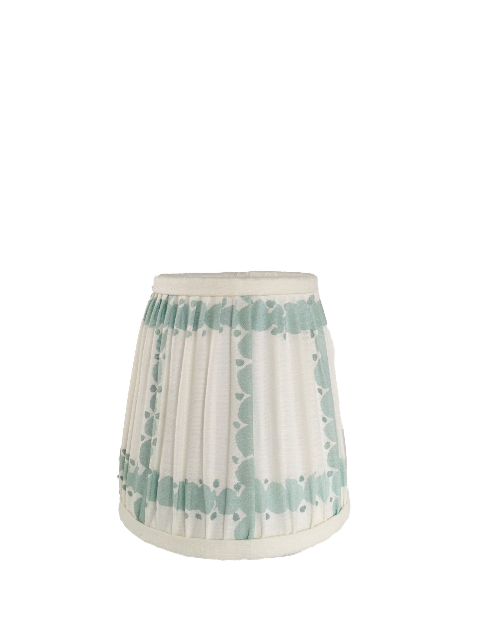 Pique Ciel Gathered Sconce Shade