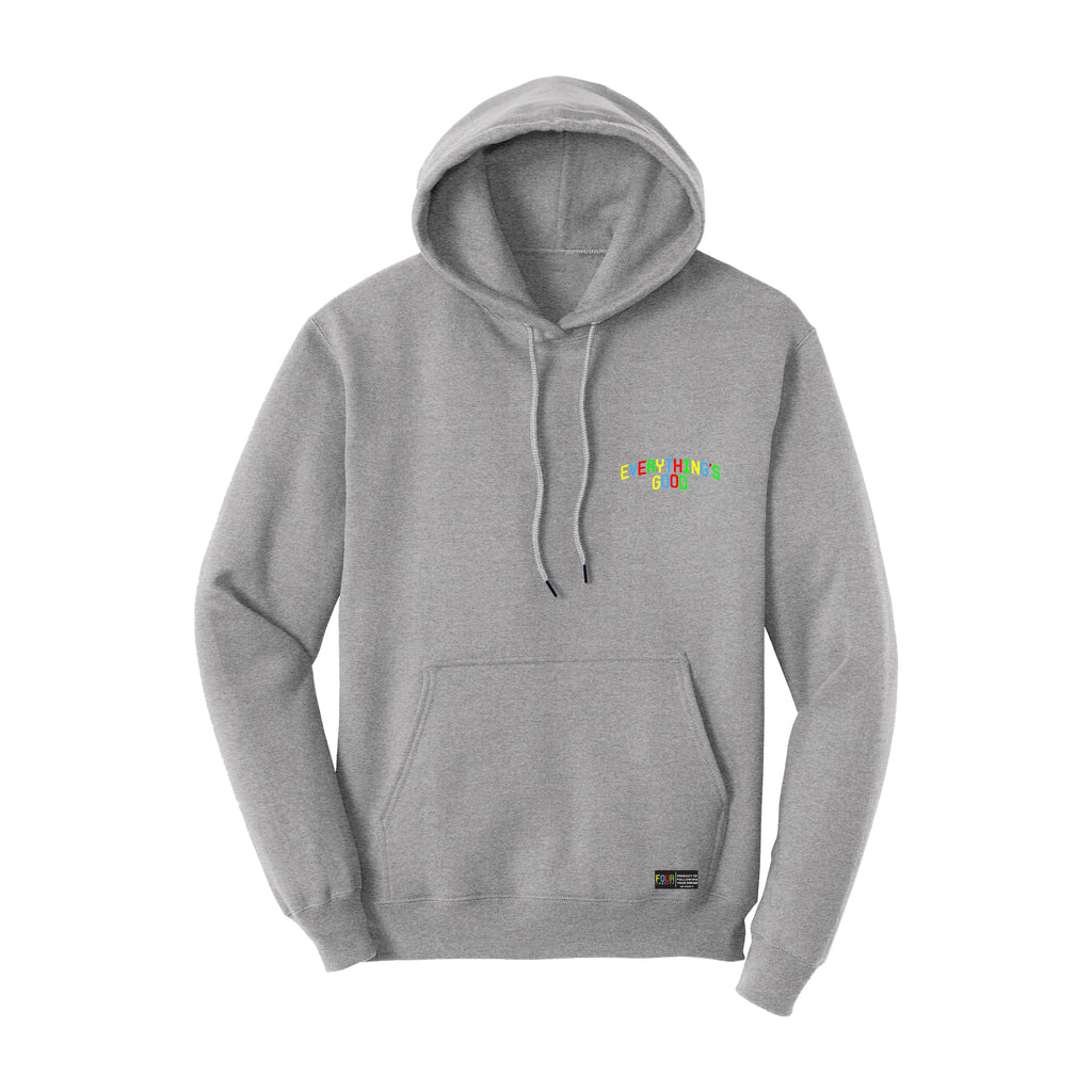 EVERYTHING'S GOOD Hoodie - Athletic Heather