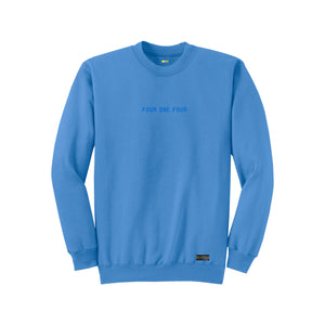 FOURTHECITY Crewneck - Carolina Blue (Monochromatic)