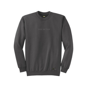 FOURTHECITY Crewneck - Charcoal (Monochromatic)