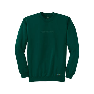 FOURTHECITY Crewneck - Green (Monochromatic)