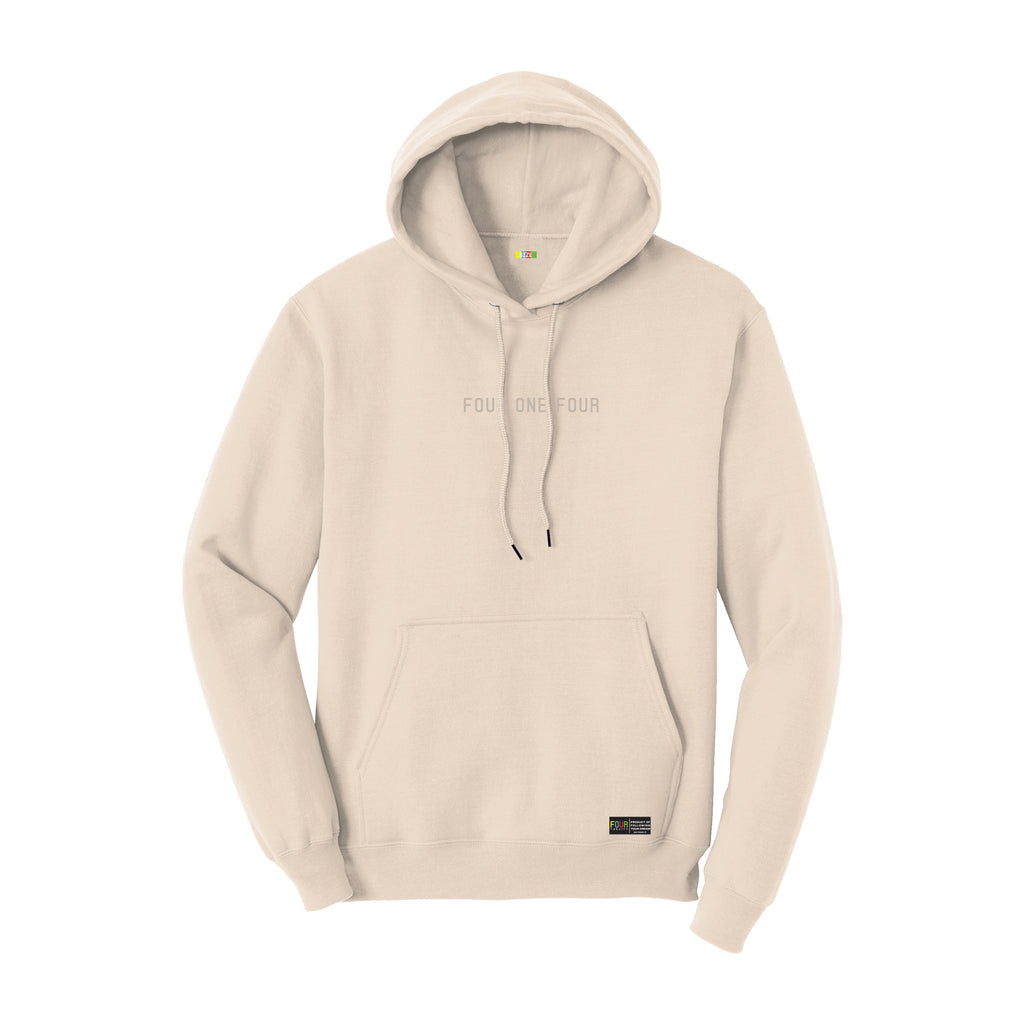 FOURTHECITY Hoodie - Natural (Monochromatic)