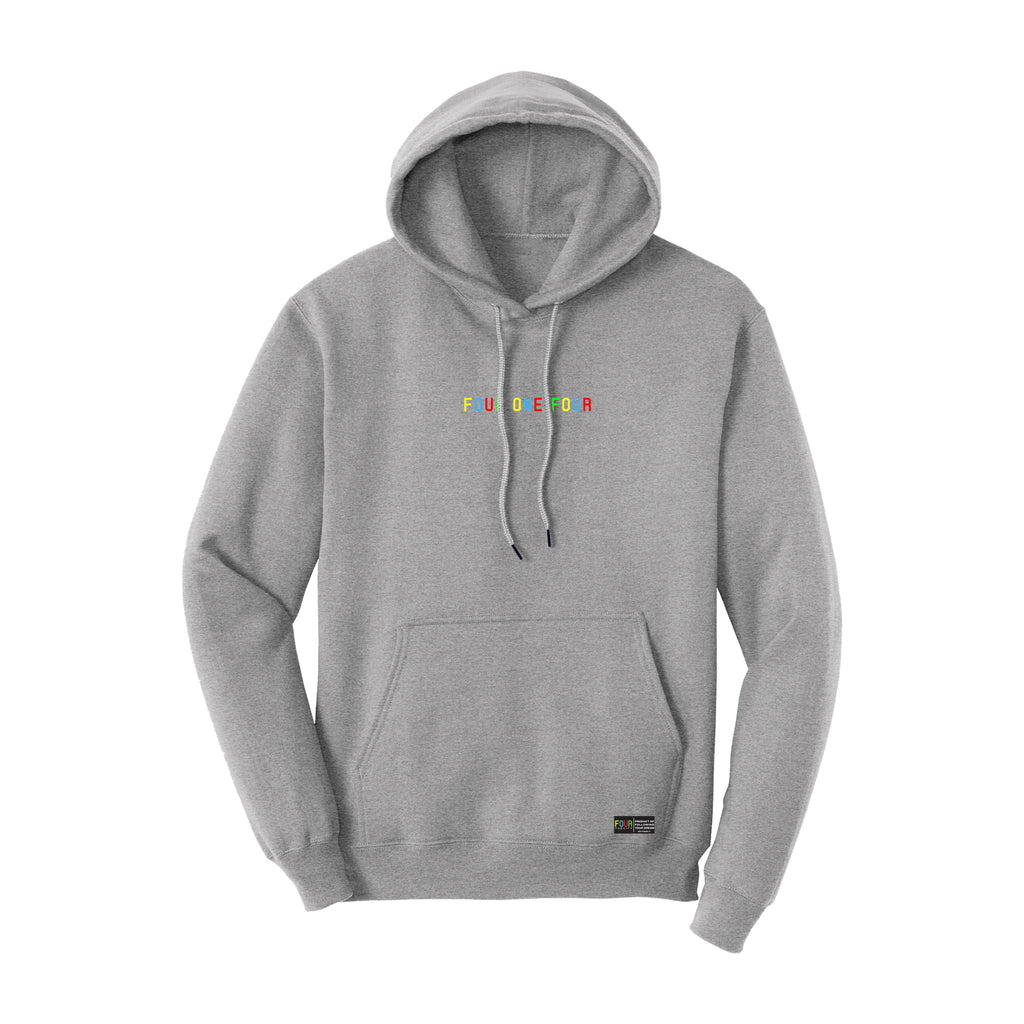 FOURTHECITY Hoodie - Athletic Heather