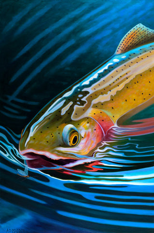 Yellowstone Cutty - 40 x 30