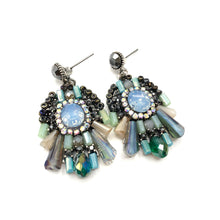 Load image into Gallery viewer, Celopatra - Art Deco earrings with a modern twist
