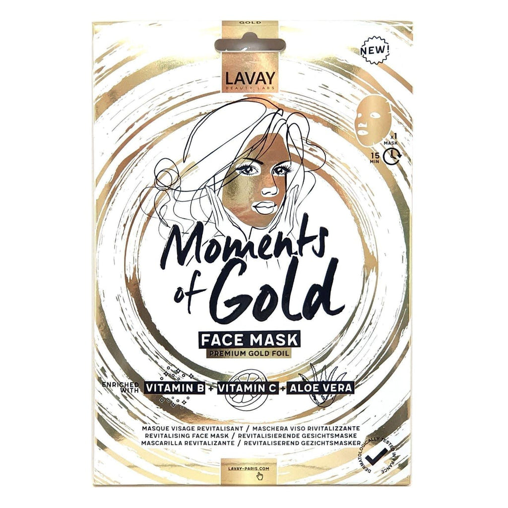 MOMENTS OF GOLD - GOLD FACE MASK