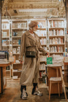 VINTAGE - TRENCH-COAT SABLE