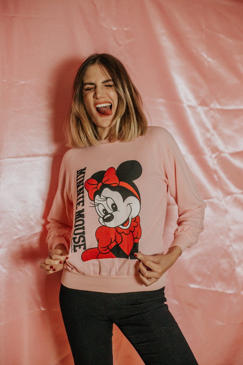 VINTAGE - SWEAT MINNIE
