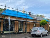 Lake Leather Evandale - new metal roofing