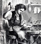 history of leather craft - cobbler