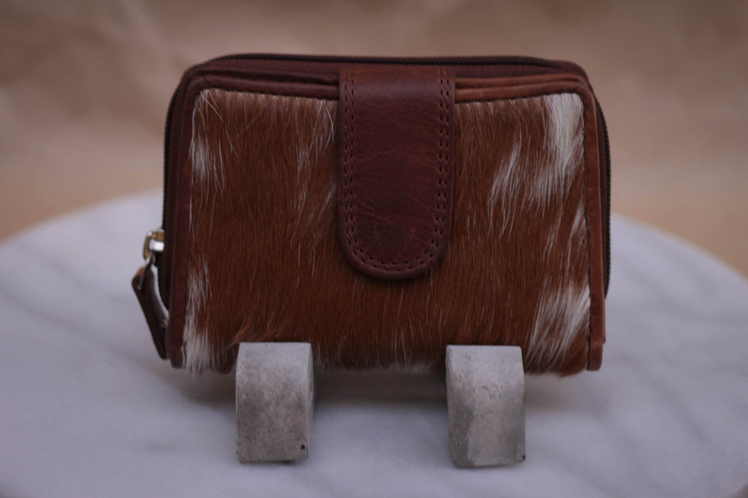 Hair-on purse