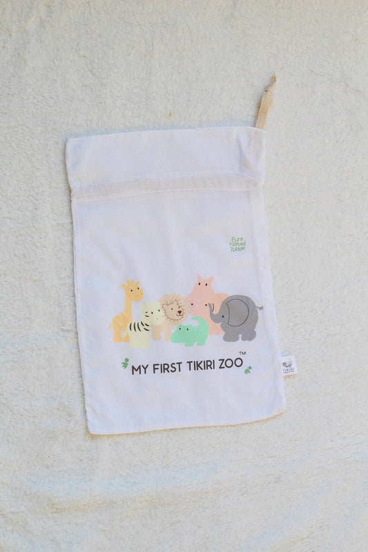 My First Zoo Cotton Bag