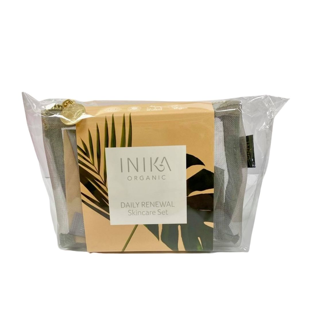 Inika Daily Renewal Skincare Set
