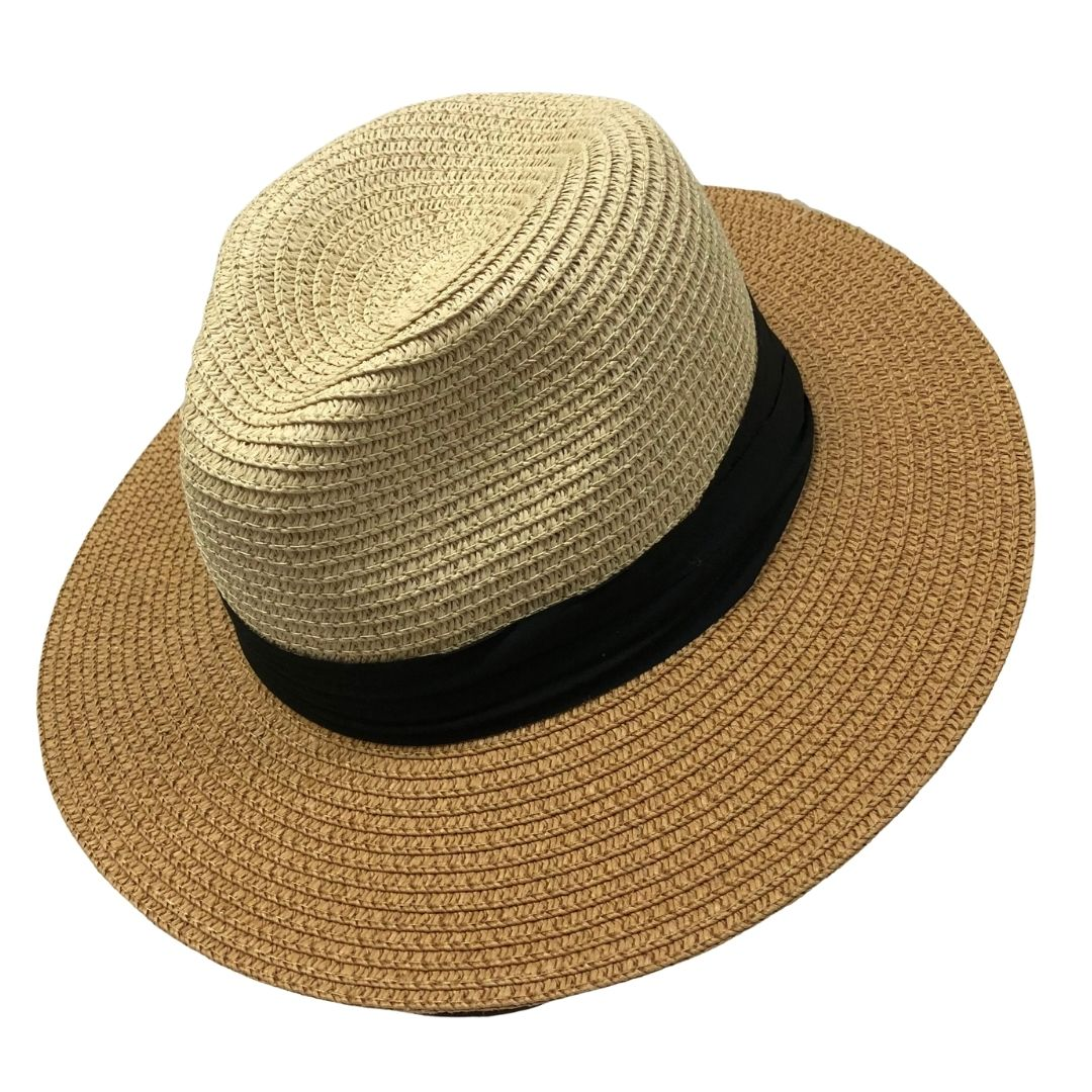 Panama Hat Two Toned