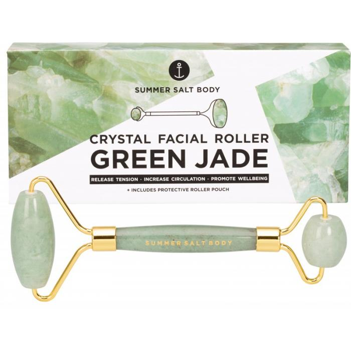 Crystal Facial Roller Green Jade