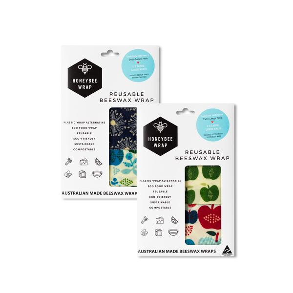 Honeybee Wrap Twin Pack