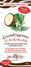 Little Zebra Coconut Supreme Chocolate