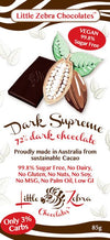 Little Zebras Dark Supreme Chocolate