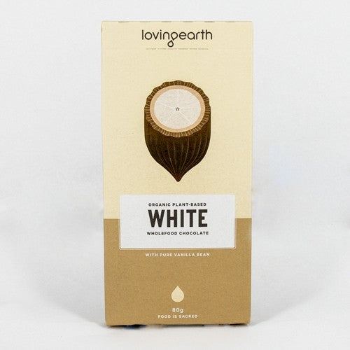 Loving Earth White Chocolate