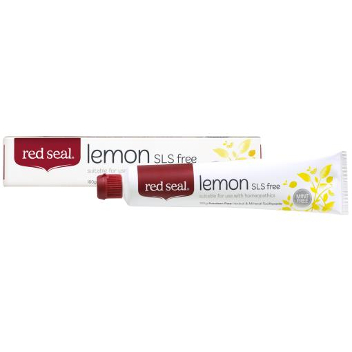Red Seal Toothpaste Lemon
