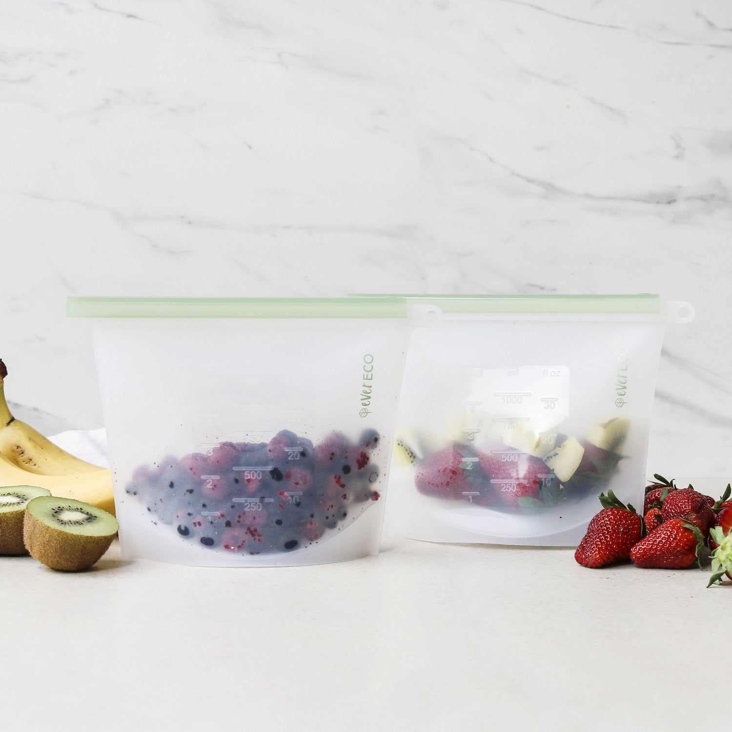 Reusable Silicone Food Pouches