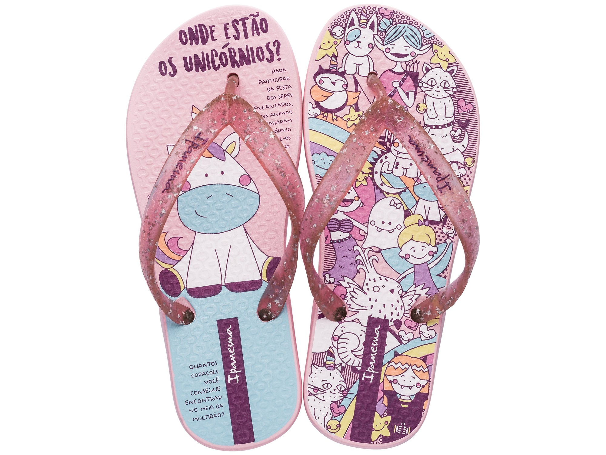 Temas Kids Girls Thongs