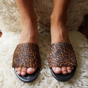 Flats Noelia - Animal Print Dark