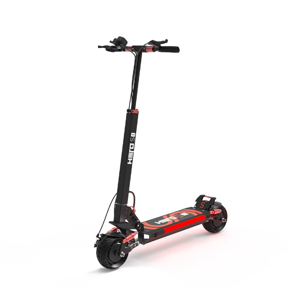 Hero S8 Wide-Wheel Electric Scooter - Beyond PEV