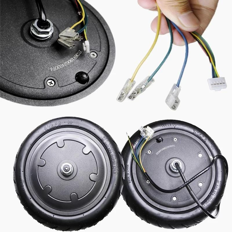 350W Front Wheel Anti-Skidding Hub Motor For Xiaomi M365
