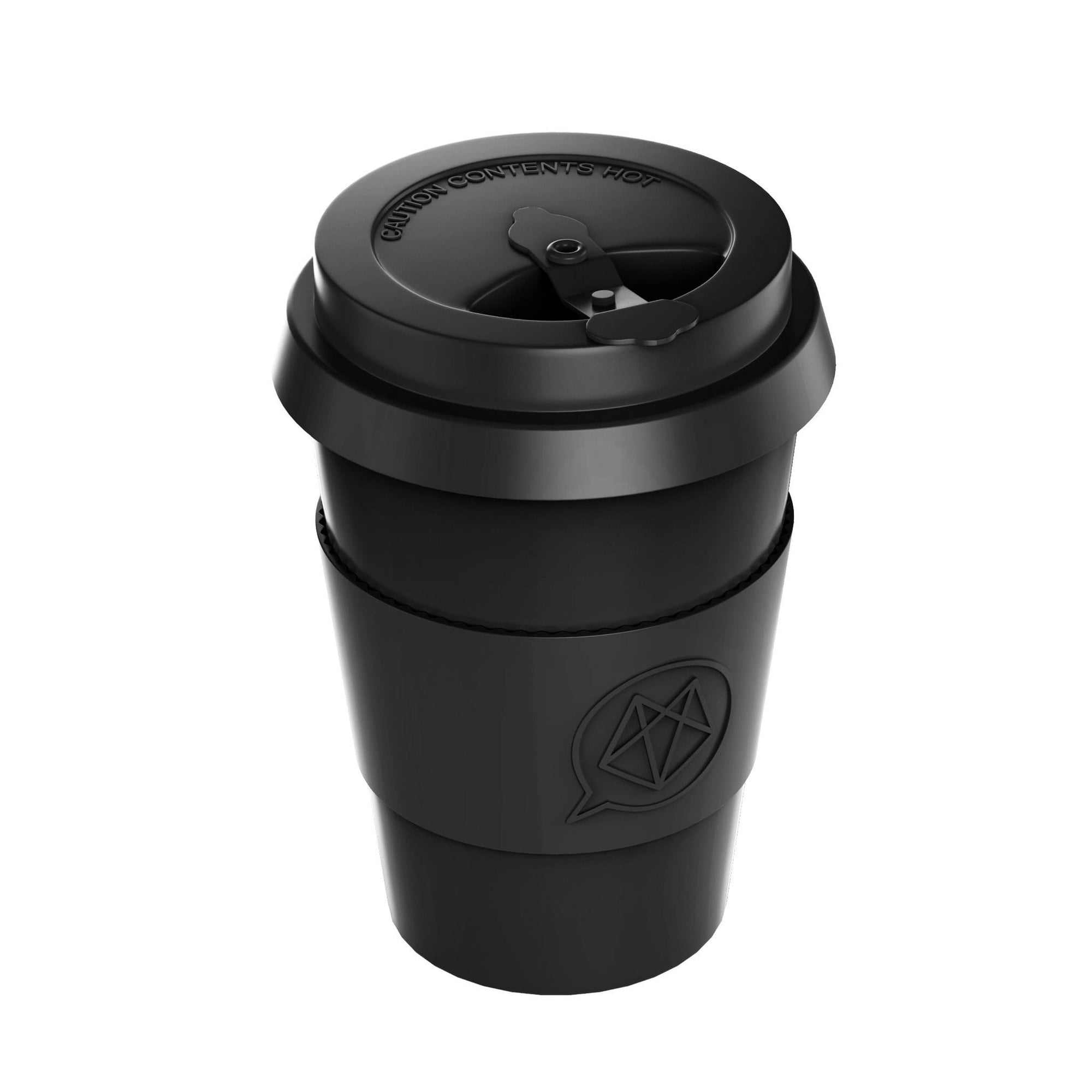 ORGANIC BAMBOO TRAVEL CUP - 12OZ 350ML REUSABLE - Beyond Electrek