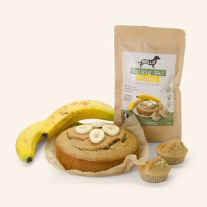 BARKING MAD BANANA cake & muffin mix