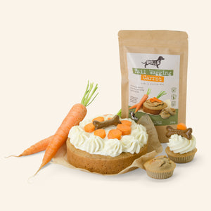 TAIL WAGGING CARROT cake & muffin mix