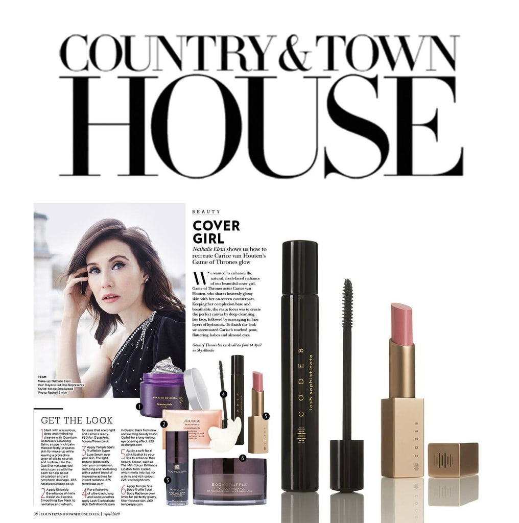 Carice Van Houten in Code8 for Country and Townhouse
