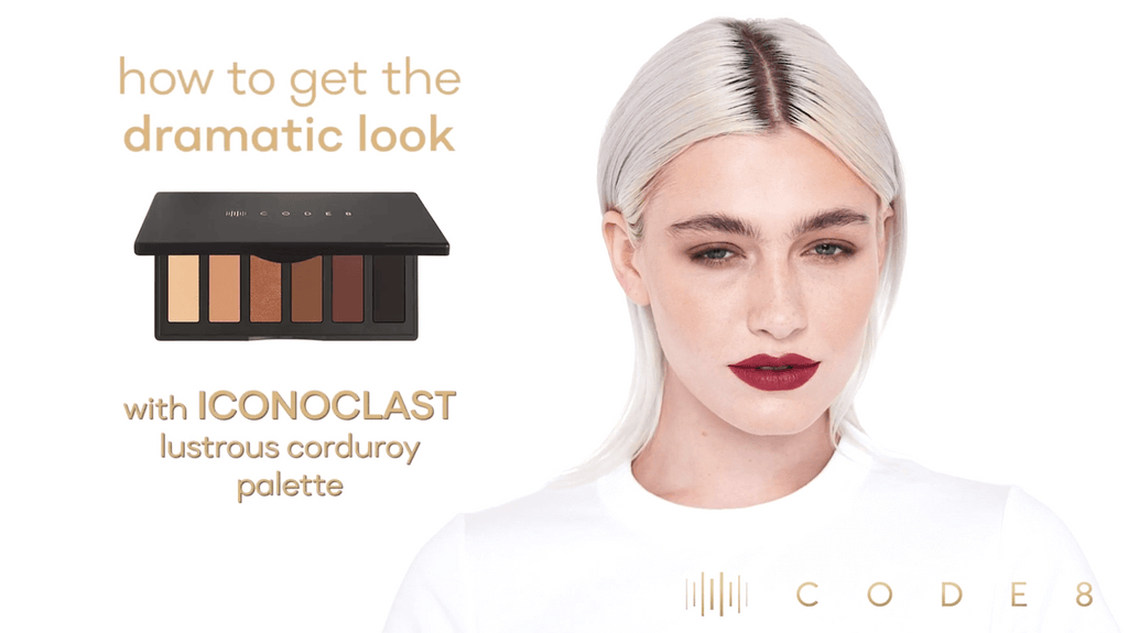 Get the Dramatic Look with Code8 Iconoclast Lustrous Corduroy palette