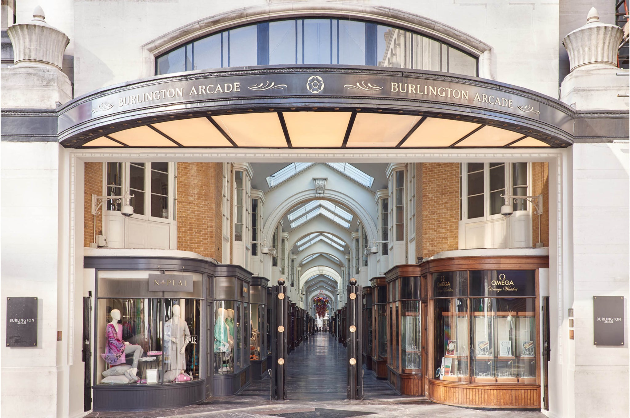 Burlington Arcade Shops & Restaurants