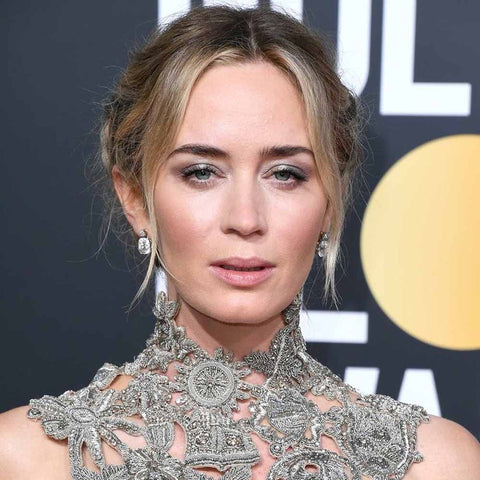 Emily Blunt Golden Globes Look