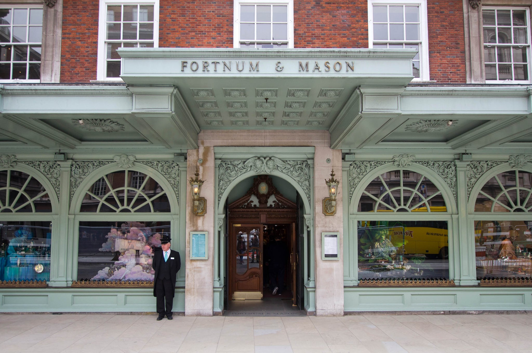 Fortnum & Masons in Piccadilly