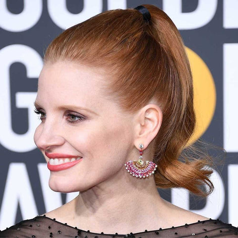Jessica Chastain Golden Globes look