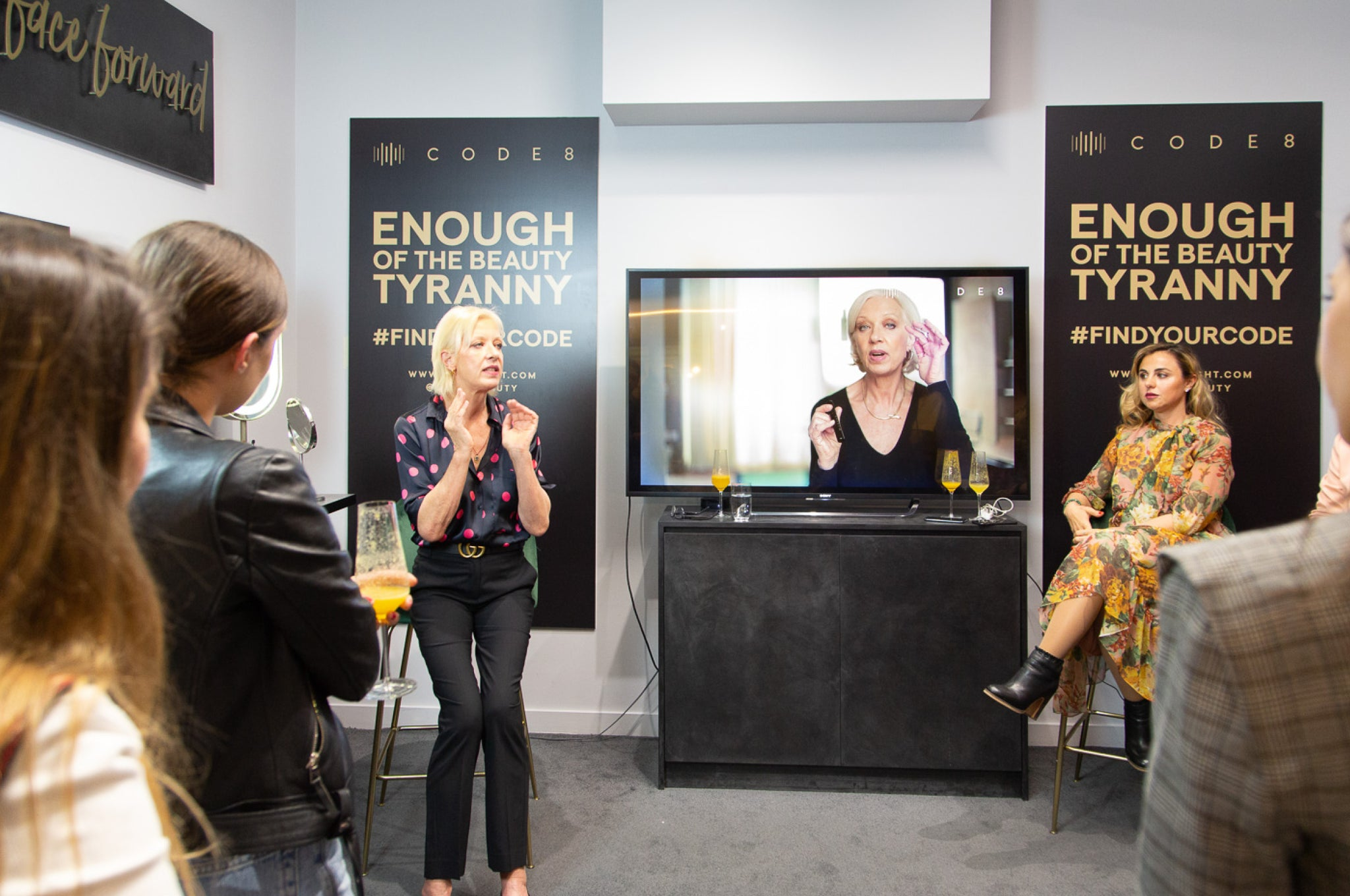 Enough of the beauty Tyranny campaign with Mary Greenwell