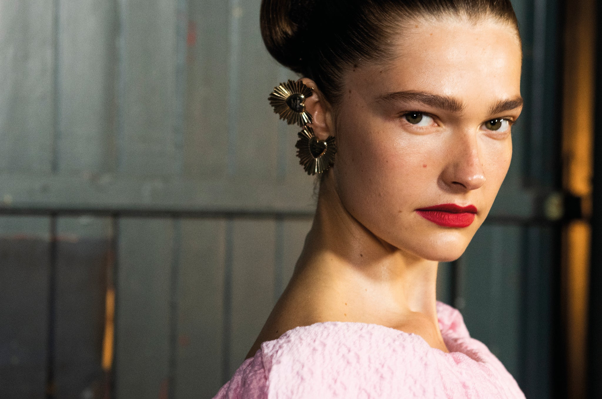 On Trend Makeup at Emilia Wickstead's SS20 Show