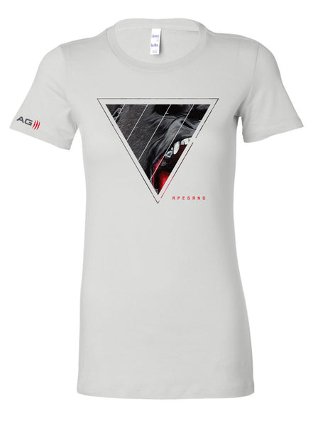 APE GANG - PREMIUM SHIRT - WHITE - WOMEN
