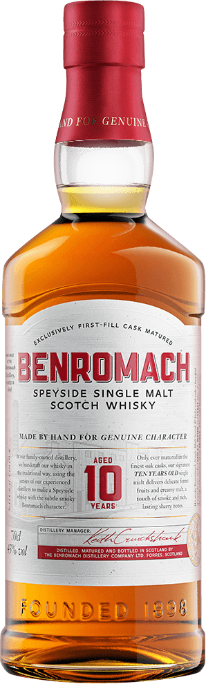 Benromach 10 years old 43%