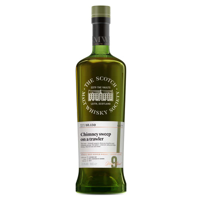 SMWS 10.130 'Chimney sweep on a trawler' 2007 / 9 years old 61.9%