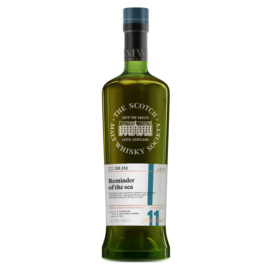 SMWS 10.151 'Reminder of the sea' 2006 / 11 years old 60.2%