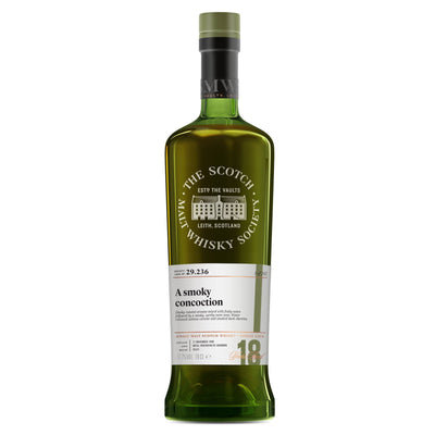 SMWS 29.236 'A smoky concoction' 1998 / 18 years old 57.7%