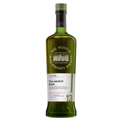 SMWS 3.311 'Tea-smoked duck' 2004 / 13 years old 55.9%