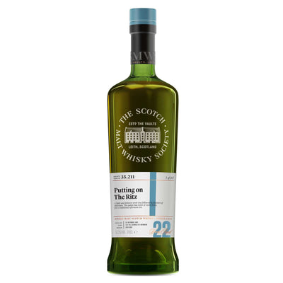 SMWS 35.211 'Putting on the ritz' 1995 / 22 years old 53.3%