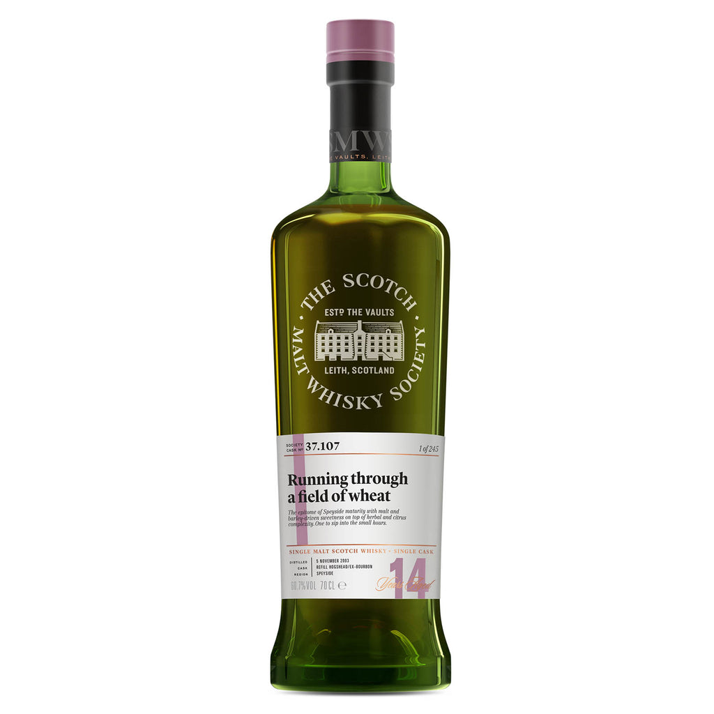 SMWS 37.107 'Running through a field of wheat' 2003 / 14 years old 60.7%